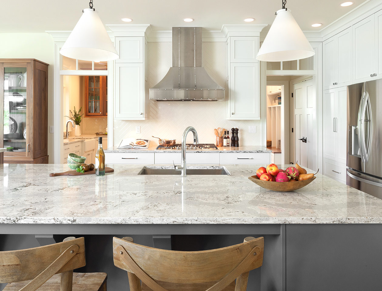 Beautiful Countertops for your New Orleans custom kitchen remodel