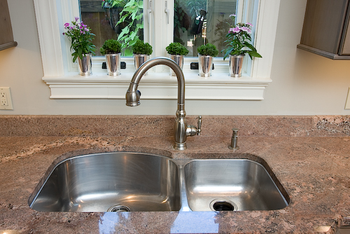 double sink | Marchand Creative Kitchens Cabinets New Orleans Metairie Mandeville LA