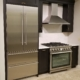 Liebherr Refrigerator, Zephyr Hood and Superiore Range | Marchand Creative Kitchens Cabinets New Orleans Metairie Mandeville LA